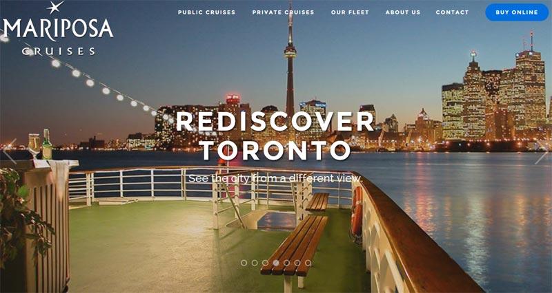 Mariposa Cruises by WhiteWater Web